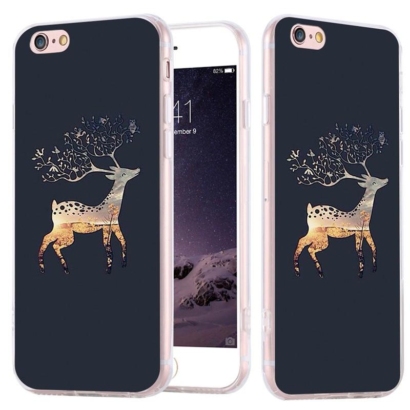Coque silicone gel CERF Apple iPhone 6/6s Plus