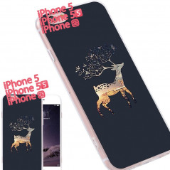 Coque silicone gel CERF Apple iPhone 5/5S/SE
