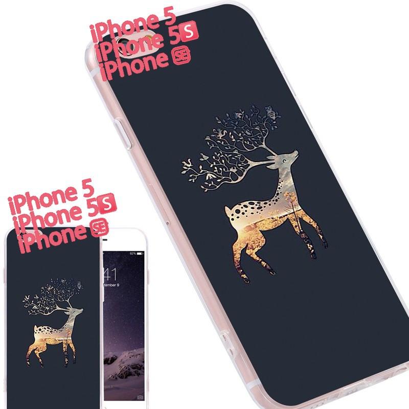 Coque silicone gel CERF Apple iPhone 5/5S/SE