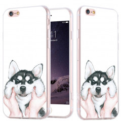 Coque silicone gel HUSKY Apple iPhone 6/6s