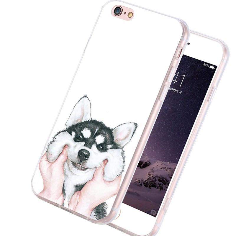 Coque silicone gel HUSKY Apple iPhone 6/6s