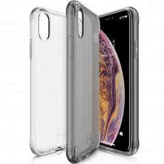 Coque souple ITSKINS NANO GEL DUO Apple iPhone XS MAX Noir-Clair