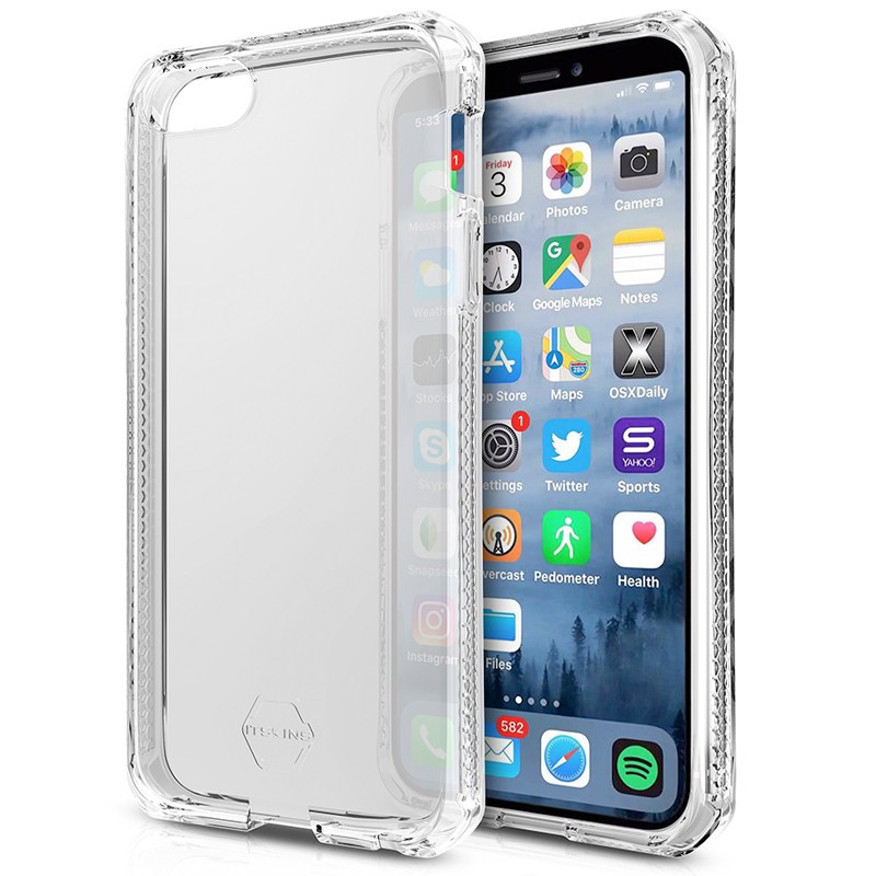 Coque souple ITSKINS Spectrum Clear Apple iPhone 5/5S/SE Clair (Transparente)