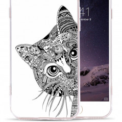 Coque silicone gel CHAT AZTEC Apple iPhone 6/6s Plus