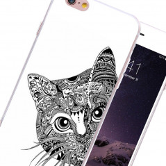 Coque rigide Chat Aztec Apple iPhone 6/6s Plus