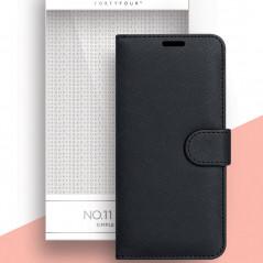 Etui folio FORTYFOUR No.11 Samsung Galaxy A41 Noir