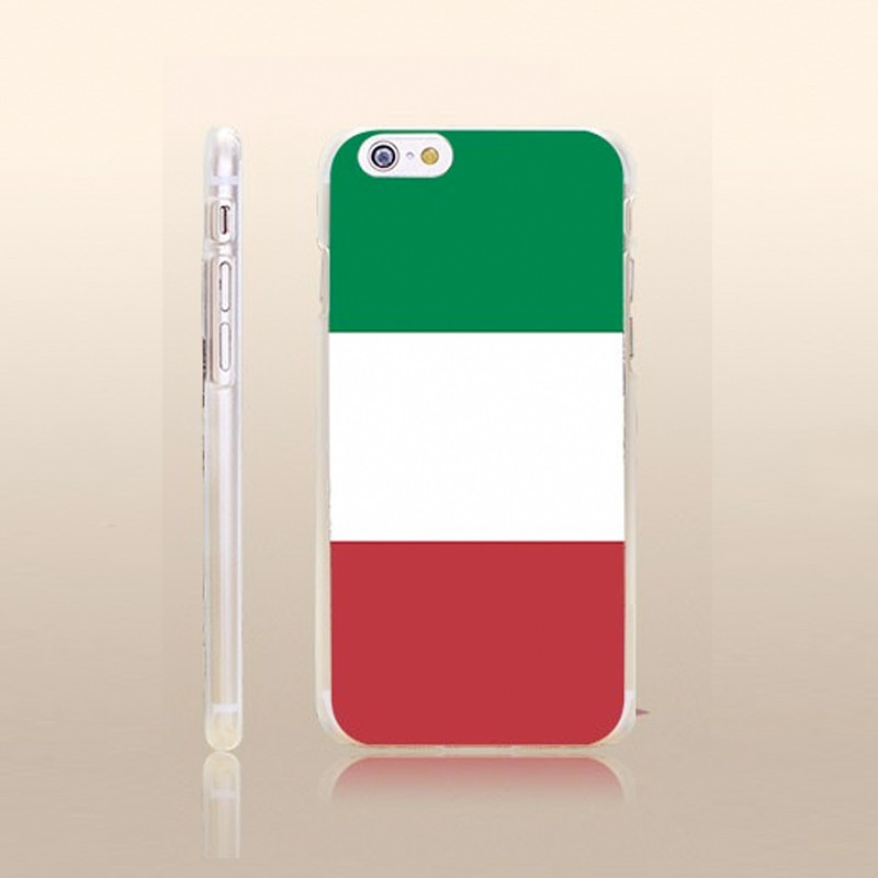Coque rigide drapeau ITALIE Apple iPhone 6/6S Plus