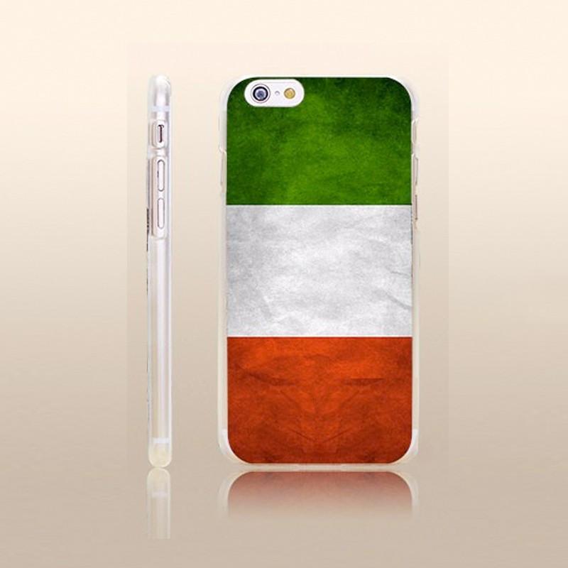 Coque rigide drapeau ITALIE Vintage Apple iPhone 6/6S Plus