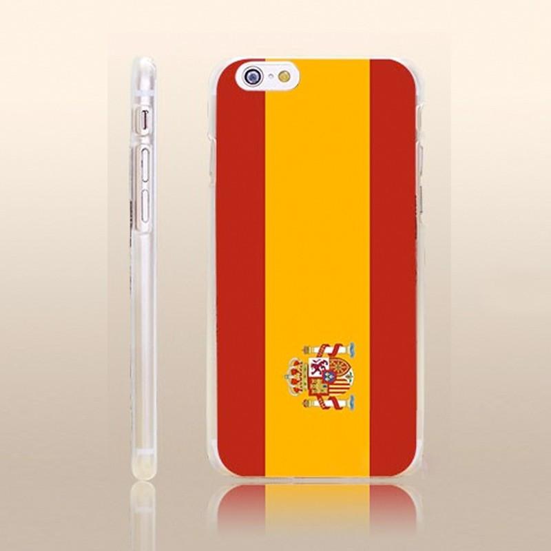 Coque rigide drapeau ESPAGNE Apple iPhone 6/6S