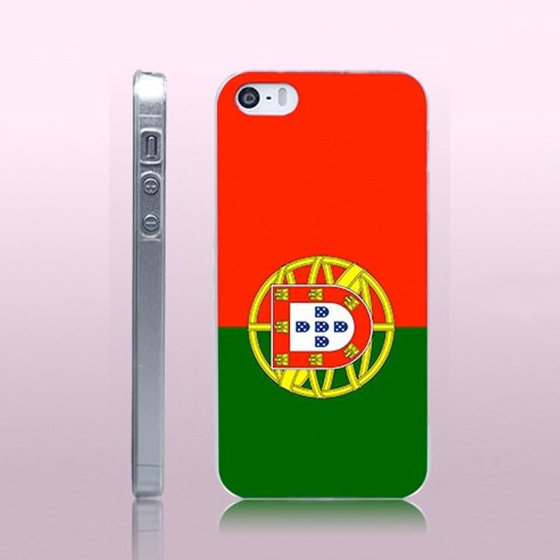 Coque rigide drapeau PORTUGAL Apple iPhone 5/5S/SE
