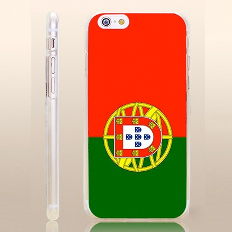 Coque rigide drapeau PORTUGAL Apple iPhone 6/6S
