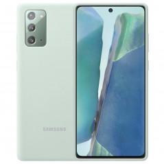 Coque silicone gel doux Samsung EF-PN980T Samsung Galaxy Note 20/20 5G