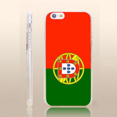 Coque rigide drapeau PORTUGAL Apple iPhone 6/6S Plus