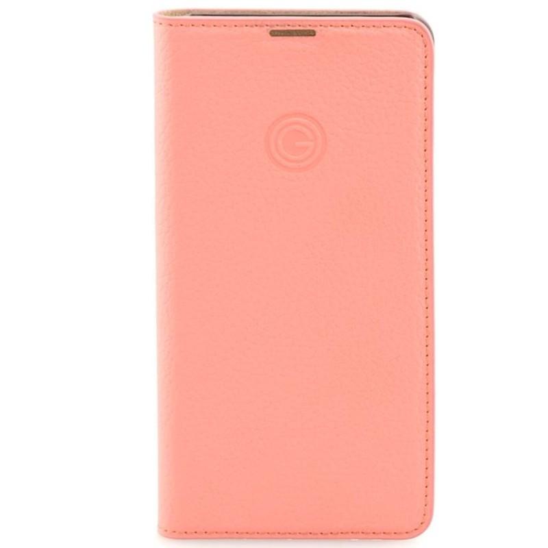 Etui cuir Mike Galeli MARC Series Samsung Galaxy S10e Rose (Corail)