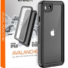 Coque rigide Eiger AVALANCHE Apple iPhone 7/8/6S/6/SE 2020 Noir