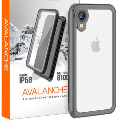 Coque rigide Eiger AVALANCHE Apple iPhone XR Noir