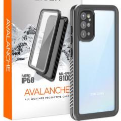 Coque rigide Eiger AVALANCHE Samsung Galaxy S20/S20 5G Noir