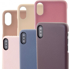 Coque cuir Mike Galeli LENNY Series Apple iPhone X/XS