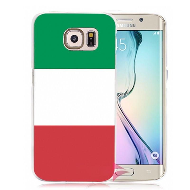 Coque rigide drapeau ITALIE Samsung Galaxy S6 Edge