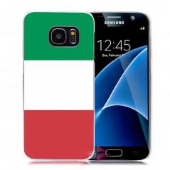 Coque rigide drapeau ITALIE Samsung Galaxy S7