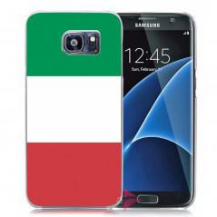 Coque rigide drapeau ITALIE Samsung Galaxy S7 Edge