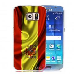 Coque rigide drapeau ESPAGNE Samsung Galaxy S6