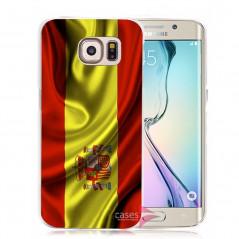Coque rigide drapeau ESPAGNE Samsung Galaxy S6 Edge