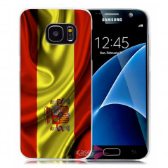 Coque rigide drapeau ESPAGNE Samsung Galaxy S7