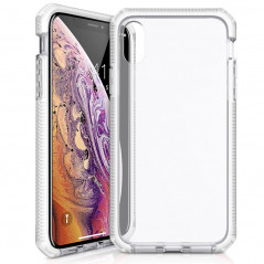Coque rigide ITSKINS SUPREME CLEAR Apple iPhone X/XS Blanc