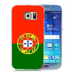 Coque rigide drapeau PORTUGAL Samsung Galaxy S6