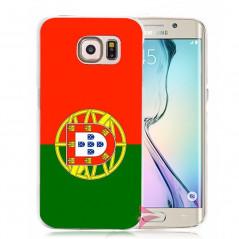 Coque rigide drapeau PORTUGAL Samsung Galaxy S6 Edge