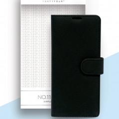 Etui folio FORTYFOUR No.11 Samsung Galaxy Note 20/20 5G Noir