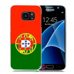 Coque rigide drapeau PORTUGAL Samsung Galaxy S7