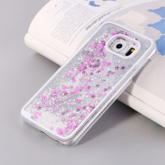 Coque Pailletée Quicksand Star Samsung Galaxy S6