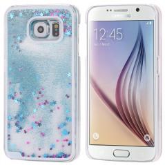 Coque Pailletée Quicksand Star Samsung Galaxy S6