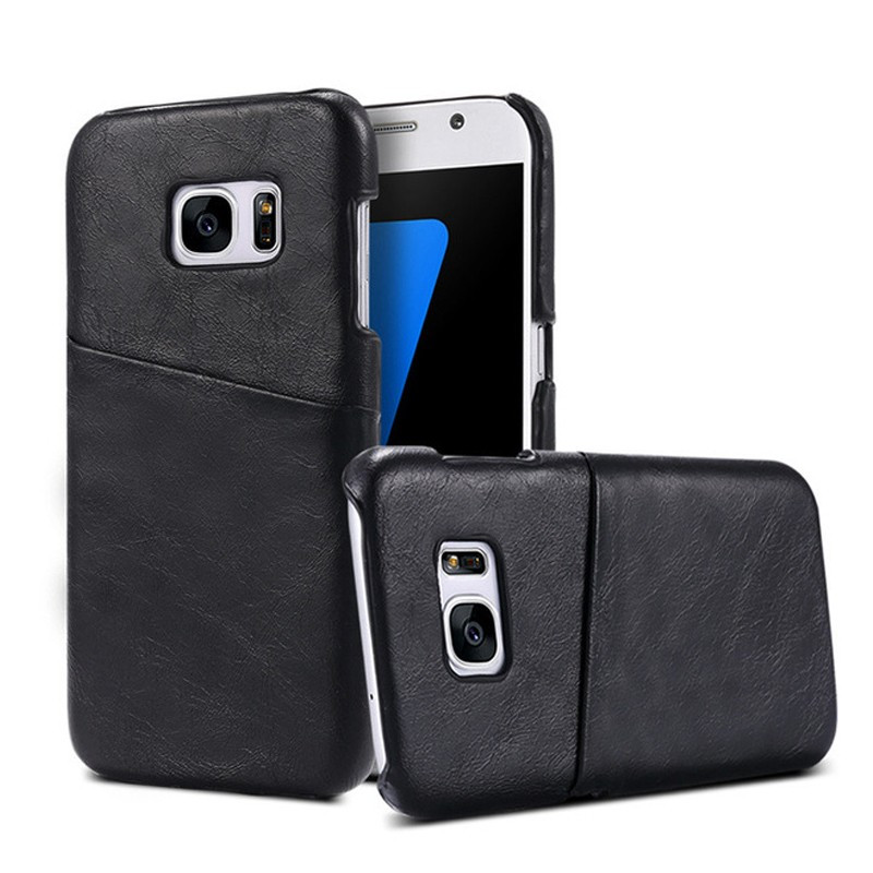 Coque VINTAGE COATED Samsung Galaxy S7 Noir