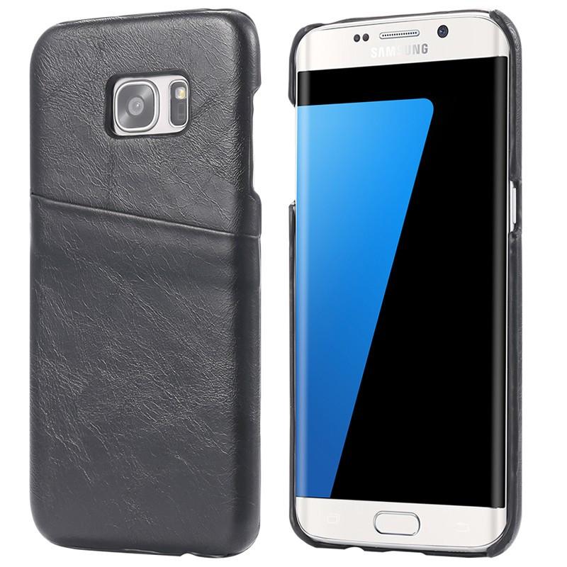 Coque VINTAGE COATED Samsung Galaxy S7 Edge Noir