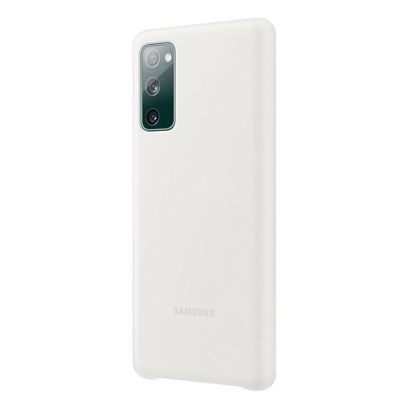 Coque silicone gel doux Samsung EF-PG780 Samsung Galaxy Galaxy S20 FE (5G) Blanc