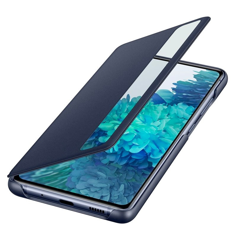 Etui folio Samsung Smart Clear view EF-ZG780 Samsung Galaxy S20 FE (5G) Bleu (Navy Blue)