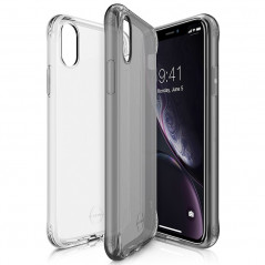 Coque souple ITSKINS NANO GEL DUO Apple iPhone XR Noir-Clair