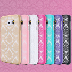 Coque rigide DAMASK FLORA Samsung Galaxy S6