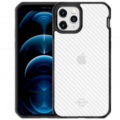 Coque rigide ITSKINS HYBRID TEX Apple iPhone 12/12 PRO Noir