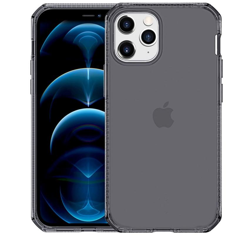 Coque souple ITSKINS Spectrum Clear Apple iPhone 12/12 PRO Noir