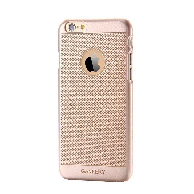 Coque ultrafine Gold Texture Apple iPhone 6/6S Plain