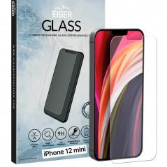 Protection écran verre trempé Eiger 2.5D GLASS SP Apple iPhone 12 Mini