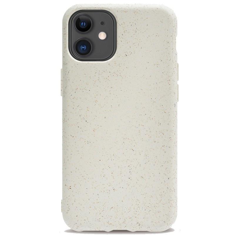 Coque rigide FORTYFOUR No.100 BIO Apple iPhone 12 Mini Blanc