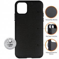 Coque rigide Eiger NORTH Apple iPhone 12 PRO MAX Noir