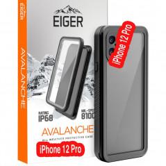Coque rigide Eiger AVALANCHE Apple iPhone 12 PRO Noir