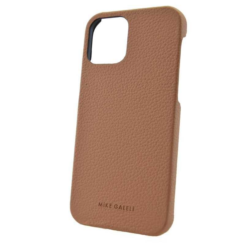 Coque cuir Mike Galeli LENNY Series Apple iPhone 12 PRO MAX Beige