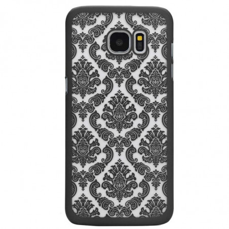 Coque rigide DAMASK FLORA Samsung Galaxy S7
